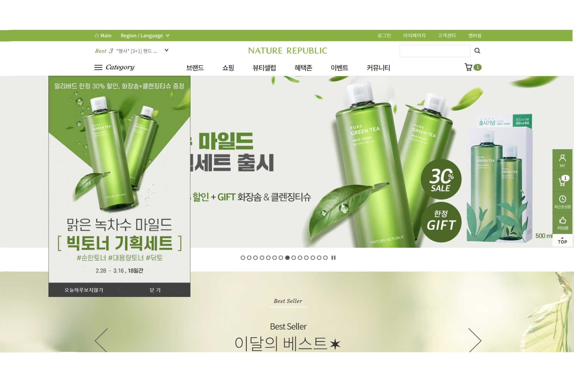 Guidelines for Online Shopping in South Korea: Nature Republic
