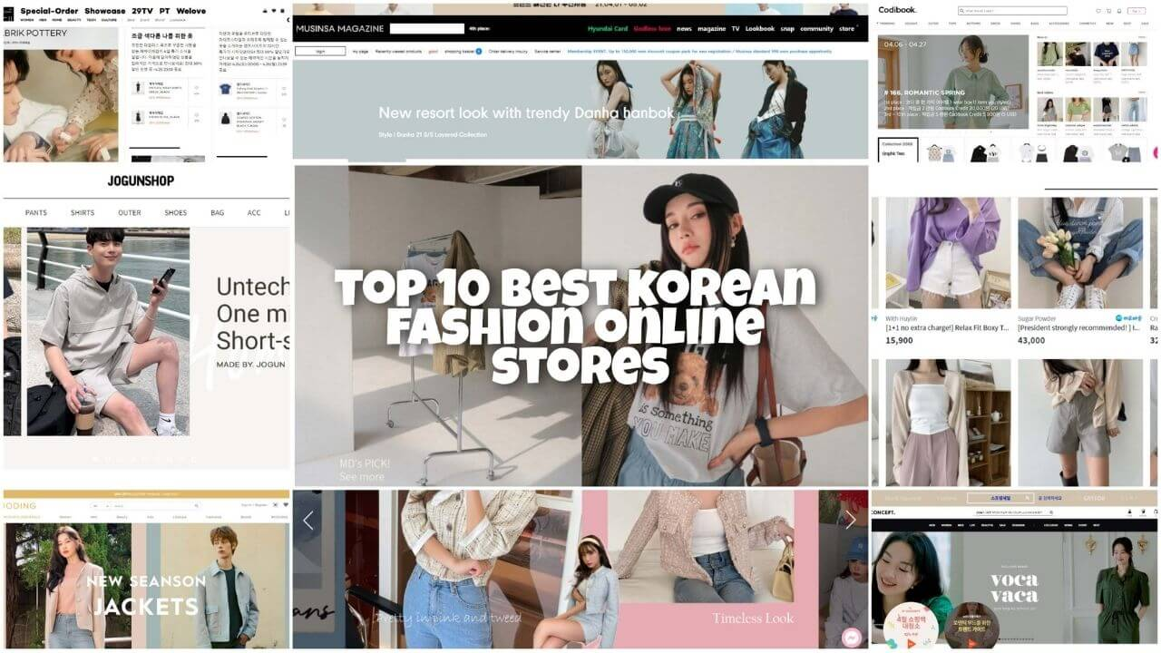 Top 10 Best Korean Fashion Online Stores in 2021 – where to buy the trendy and affordable K-fashion?