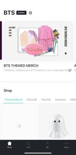 weverse shop app screenshot 1