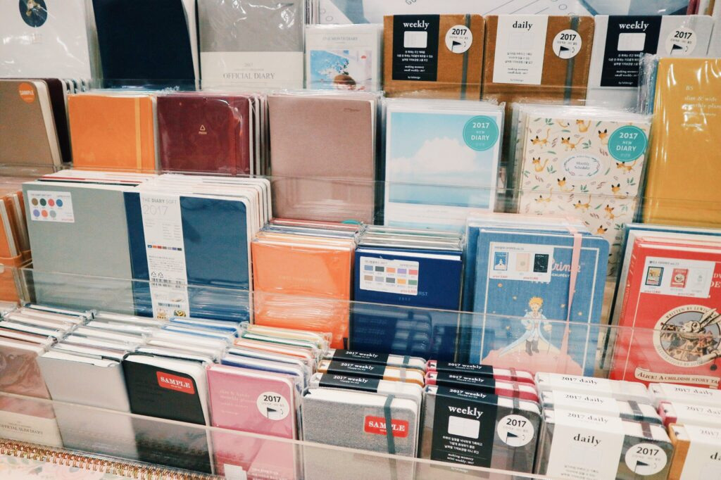 10x10 planners