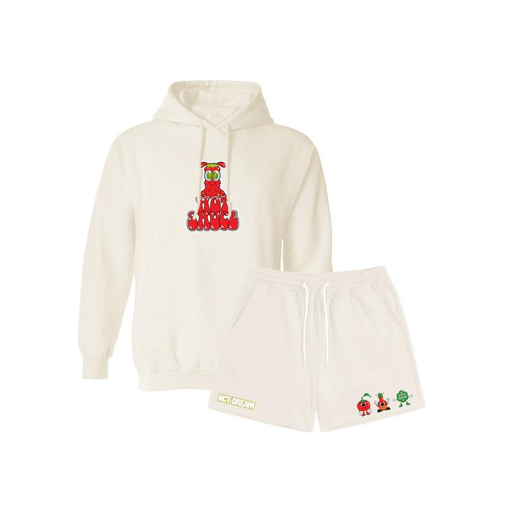 NCTDREAM HOT SAUCE HOODIE+SHORTS