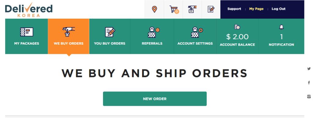 We Buy Orders