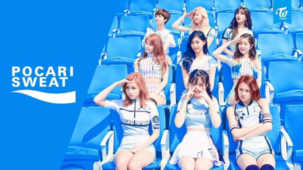 passing the nation's girl group crown to twice delivered korea